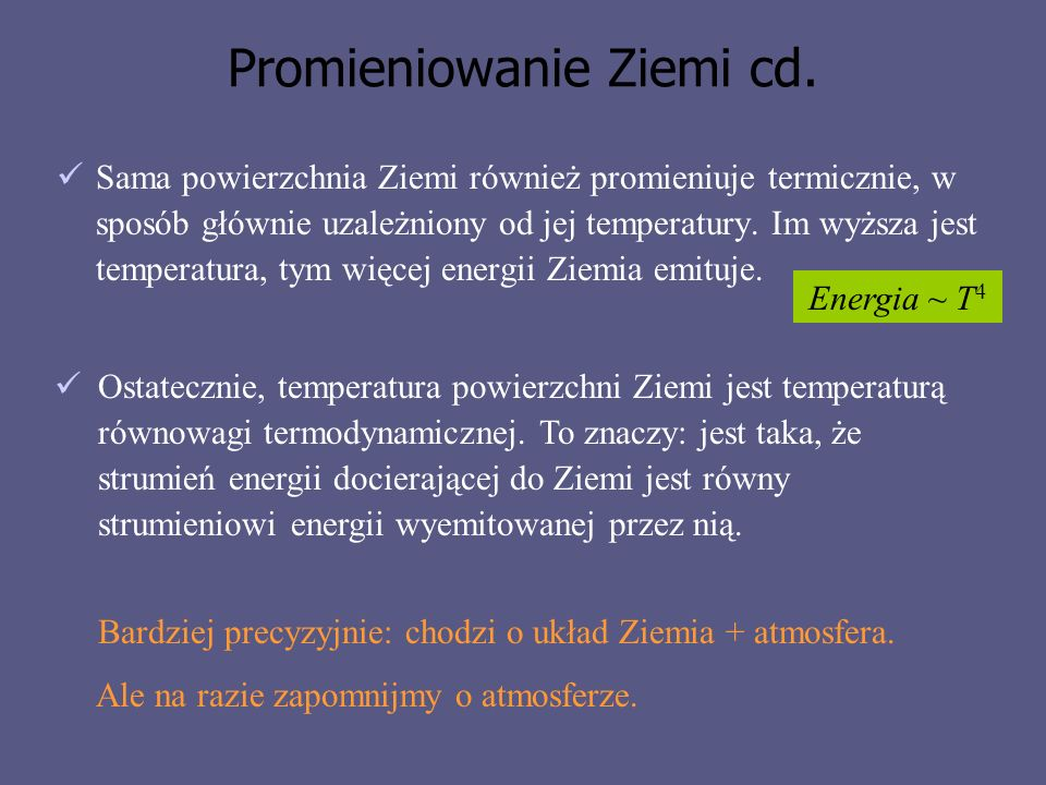 Promieniowanie Ziemi cd.