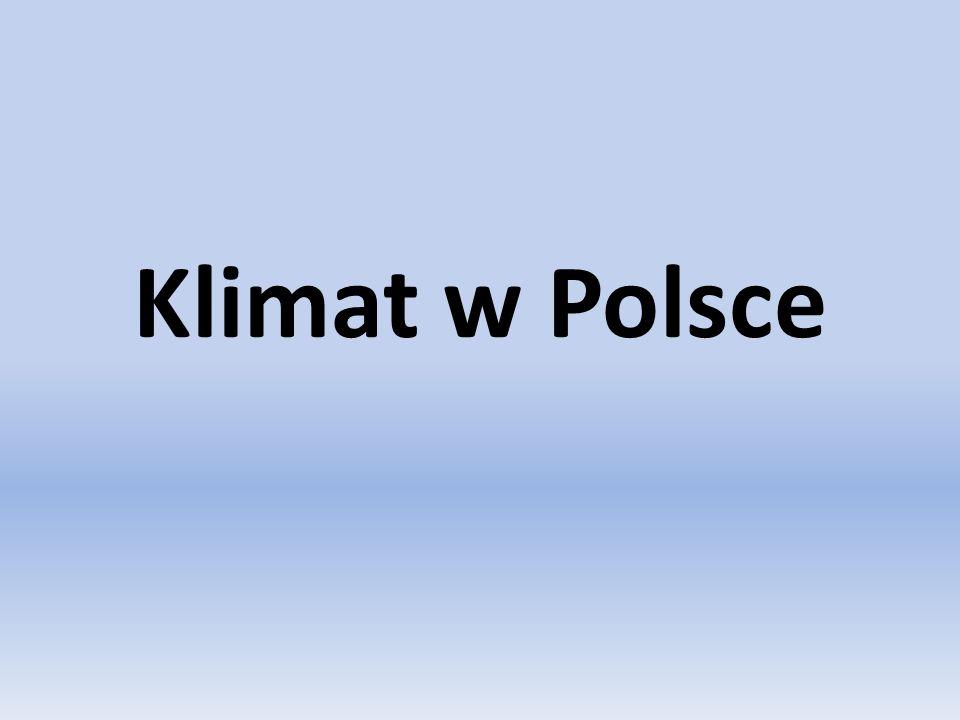 Klimat w Polsce