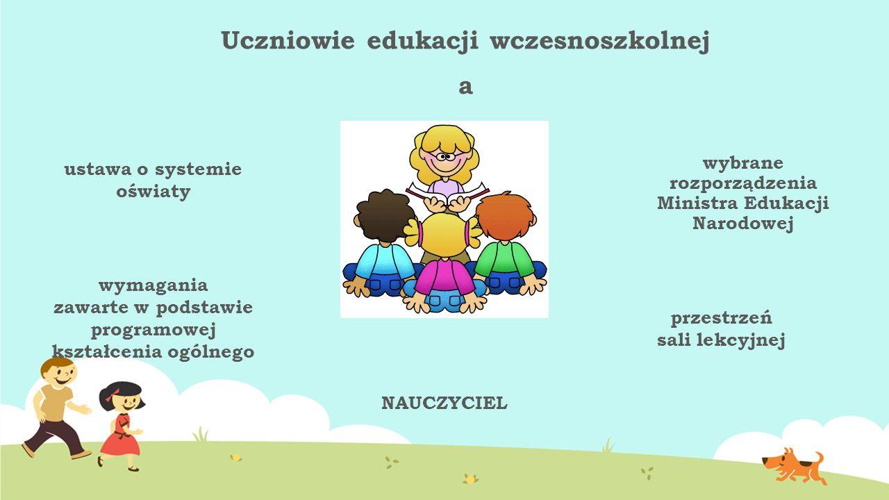 Uczniowie edukacji wczesnoszkolnej a ustawa o systemie oświaty wymagania zawarte w podstawie programowej kształcenia ogólnego wybrane rozporządzenia M