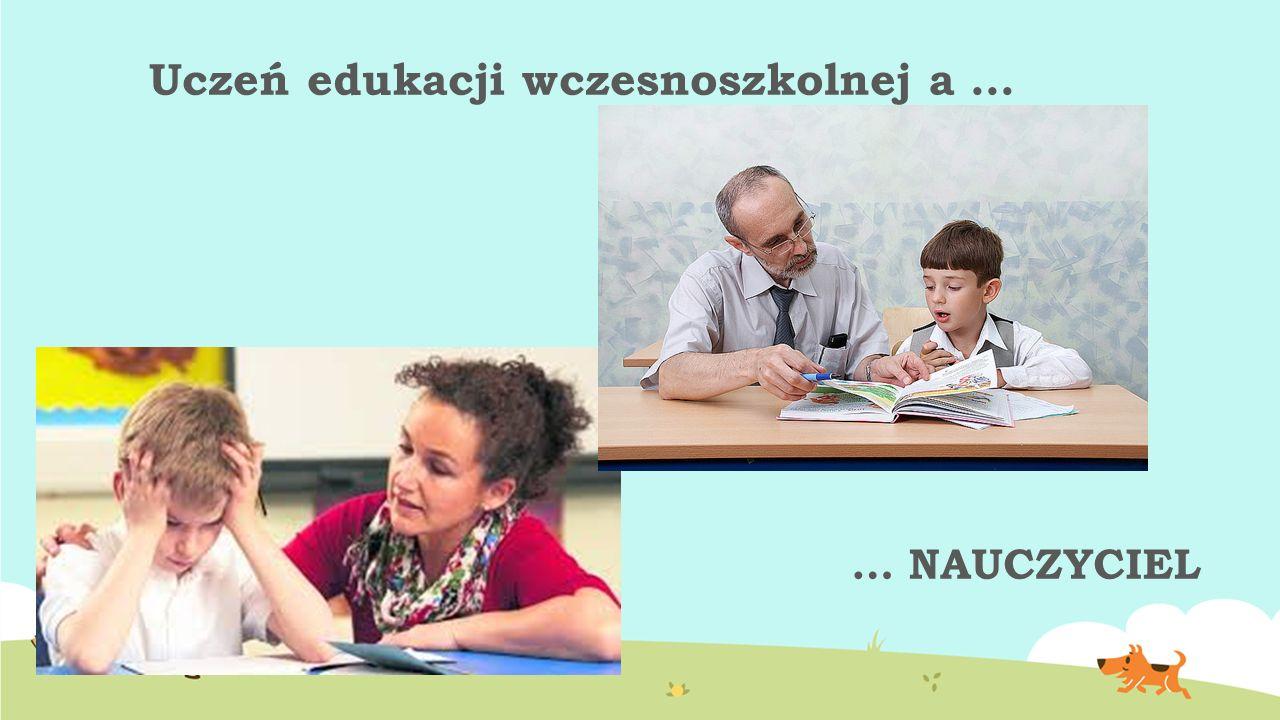Uczeń edukacji wczesnoszkolnej a … … NAUCZYCIEL