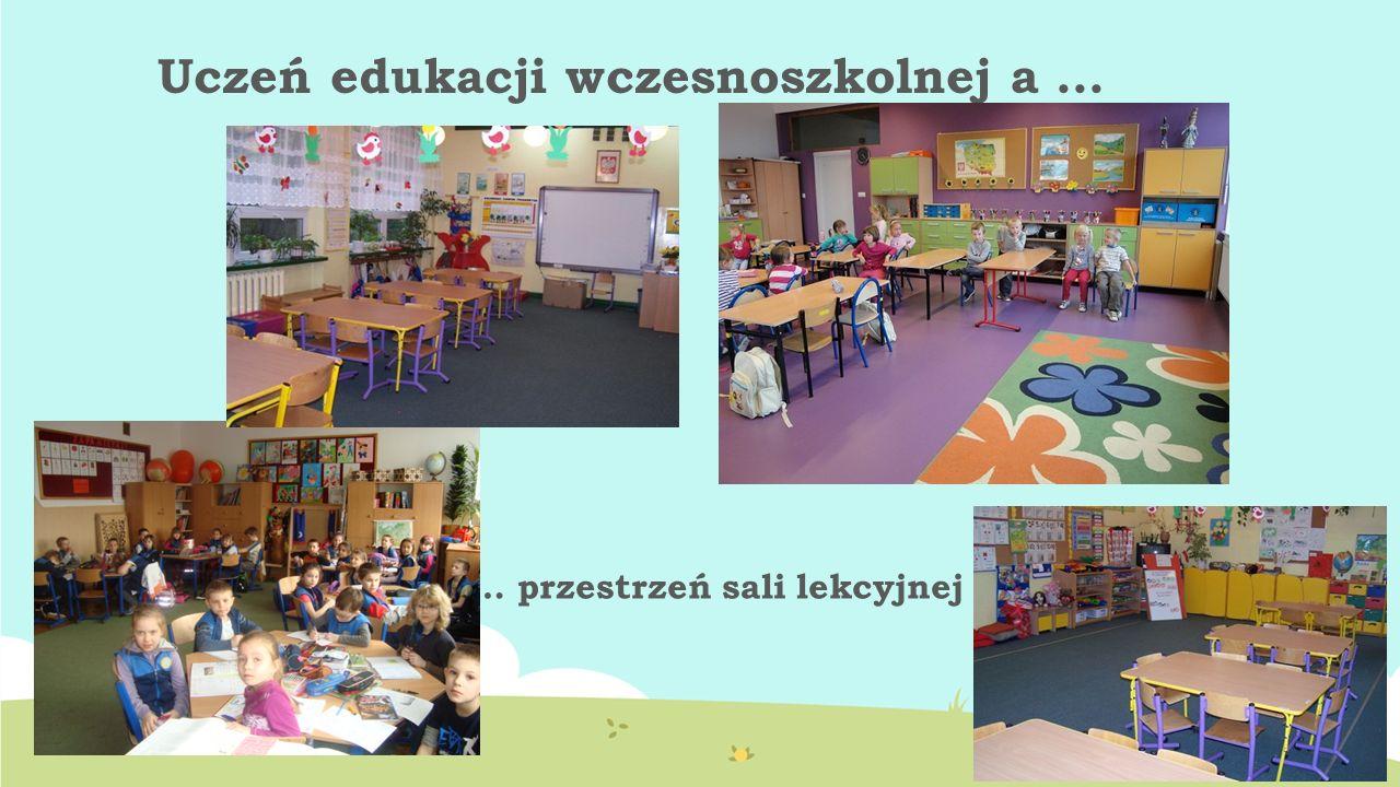 Uczeń edukacji wczesnoszkolnej a … … przestrzeń sali lekcyjnej