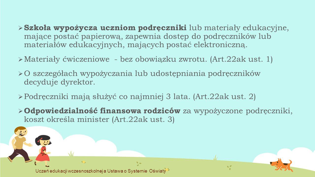 OCENIANIE w klasach I-III (Art.44i ust.
