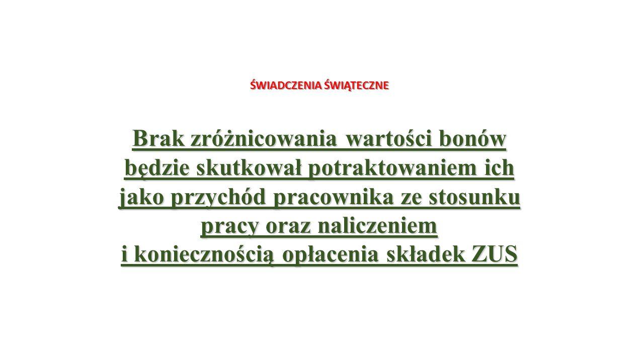 OPODATKOWANIE WYBRANYCH ŚWIADCZEŃ FINANSOWANYCH Z ZFŚS WAŻNE Karty przedpłacone można potraktować jako świadczenie pieniężne Interpretacja indywidualna dyrektora Izby Skarbowej w Warszawie z 15 czerwca 2010 roku (sygn..