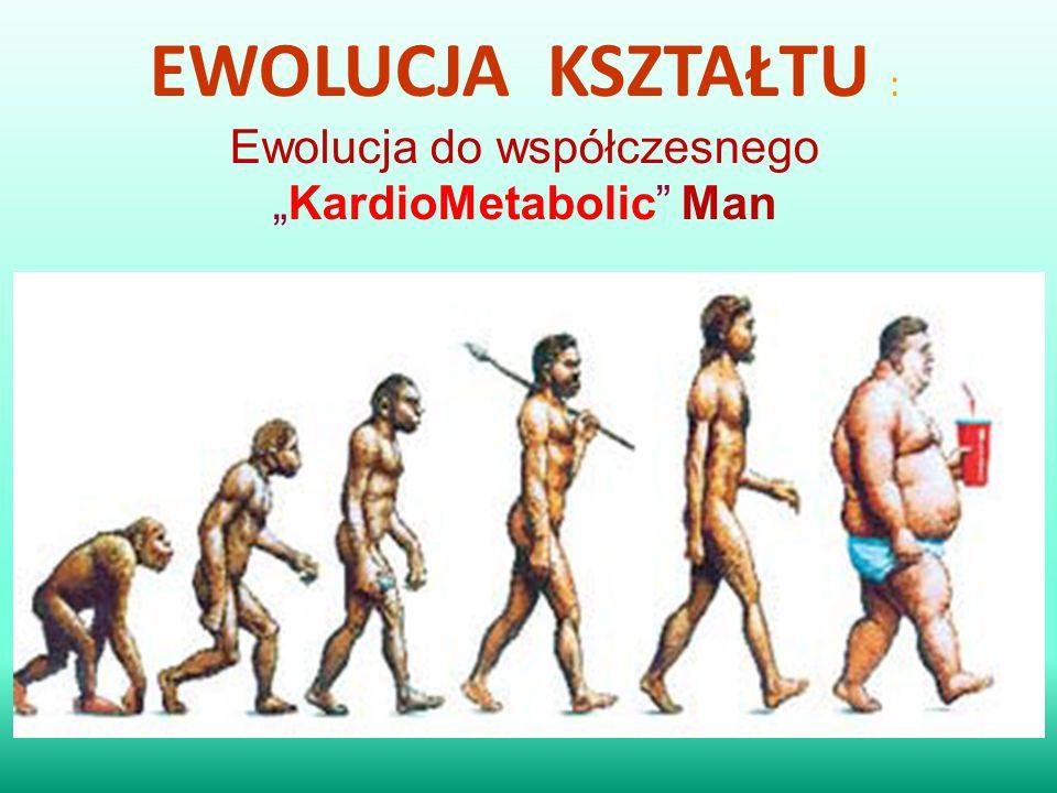 """EWOLUCJA KSZTAŁTU : Ewolucja do współczesnego """"KardioMetabolic"""" Man"""