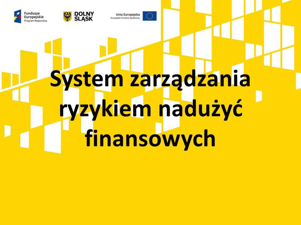 Działania naprawcze (raportowanie, korygowanie i odzyskiwanie środków): - raportowanie - korygowanie i odzyskiwanie kwot