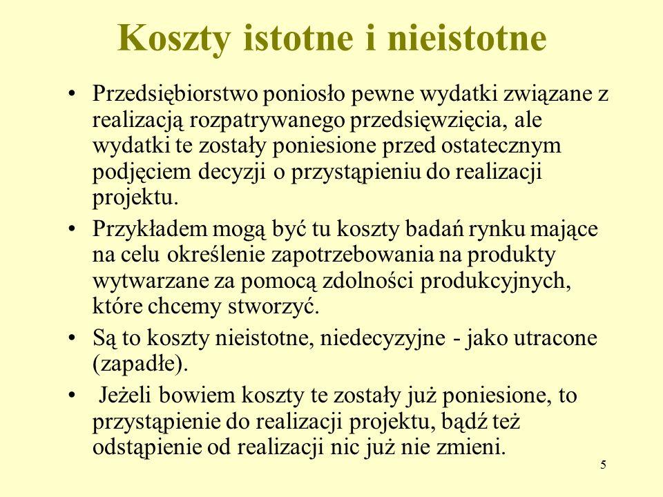 """6 KOSZTY ALTERNATYWNE JAKO PODSTAWA LICZENIA ZYSKU EKONOMICZNEGO - Kowalski pracował na etacie i zarabiał miesięcznie 3.000 zł netto (""""na rękę )."""