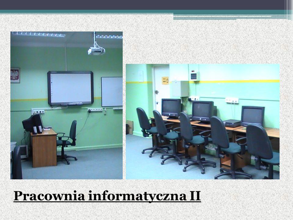 Pracownia informatyczna II