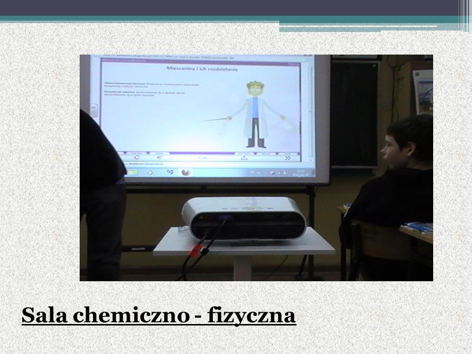 Sala chemiczno - fizyczna