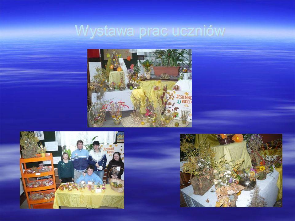 Wystawa prac uczniów Wystawa prac uczniów