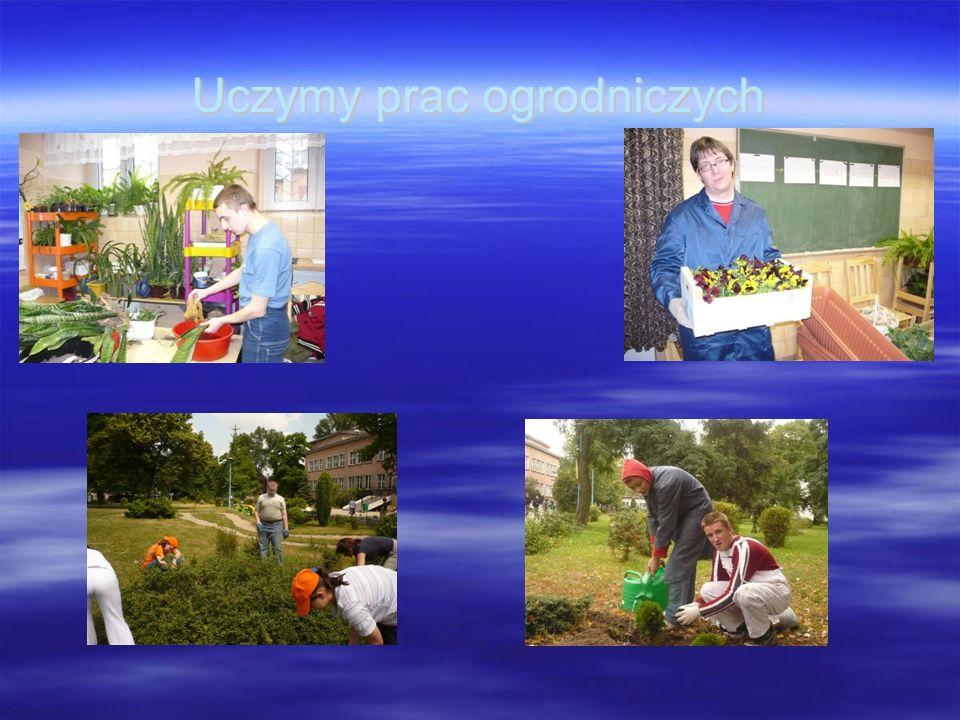 Uczymy prac ogrodniczych
