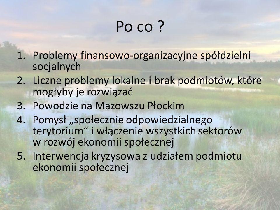 """Badania 1.Podstawowe informacje społeczno-gospodarcze 2.Kontekst instytucjonalny - powodzie """"Mając na uwadze fakt, że największe straty powodziowe powstają na ciekach rolnych (rowy melioracyjne, strumienie) i stanowią 82% ogółu strat, oraz że najczęściej występujące w Polsce powodzie (66%) to powodzie opadowe, prawidłowy stan urządzeń melioracyjnych, ich funkcjonowanie może mieć istotny wpływ na ograniczanie skutków powodzi. (Interpelacja nr 21922 posła Tomasza Piotra Nowaka do Ministra Rolnictwa i Rozwoju Wsi z dnia 25 marca 2011 r."""