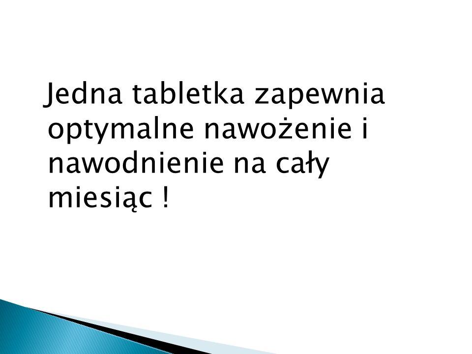 Ekologiczna receptura tabletek.