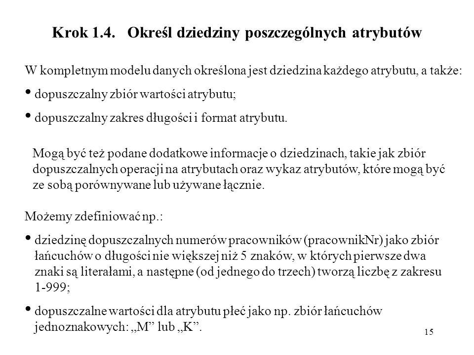 15 Krok 1.4.