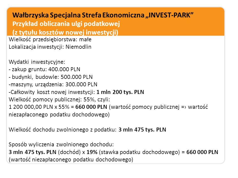 """Wałbrzyska Specjalna Strefa Ekonomiczna """"INVEST-PARK Strefa przyjazna inwestorom szczegółowa mapa terenów inwestycyjnych – baza GIS (mapa.invest-park.com.pl) pomoc spółki na etapie realizacji inwestycji oraz po jej zakończeniu koordynacja grup zakupowych (do 30% mniejsze koszty mediów) klub HR pilotażowy program współpracy szkół zawodowych i przedsiębiorców (Klaster Invest in Edu) szkolenia dla pracowników firm strefowych"""