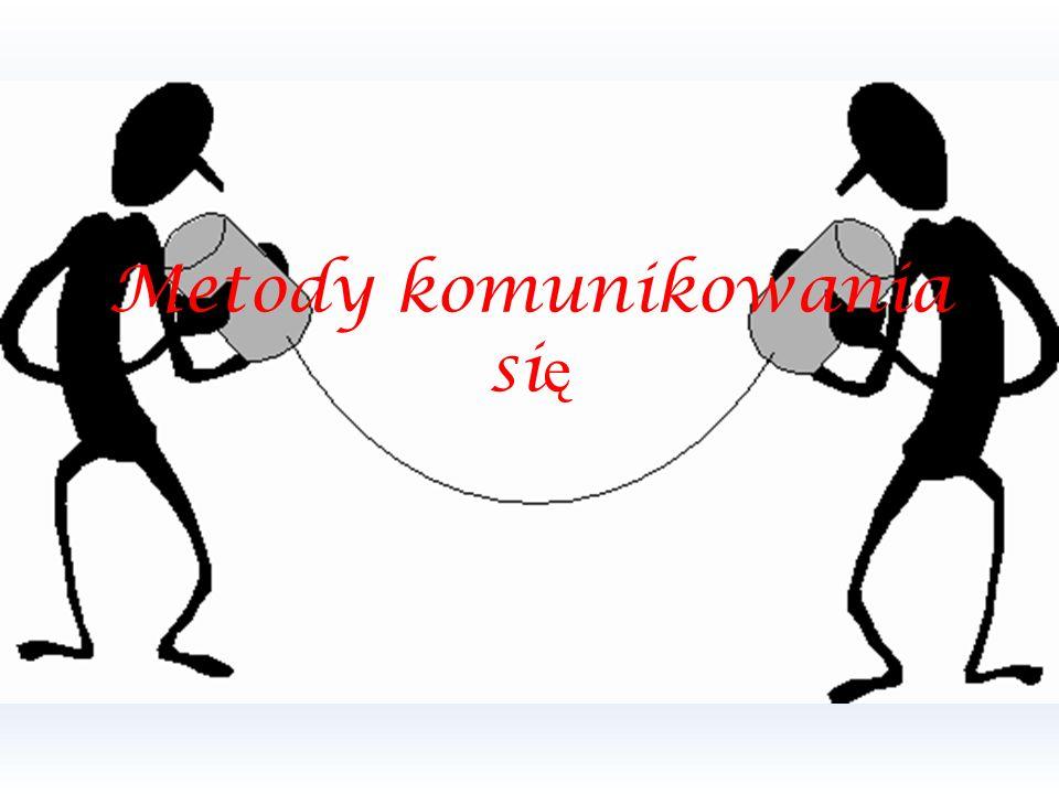 Metody komunikowania si ę