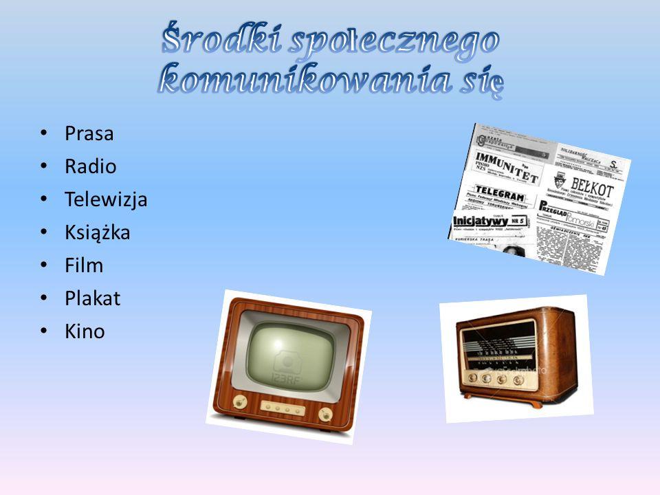 Prasa Radio Telewizja Książka Film Plakat Kino