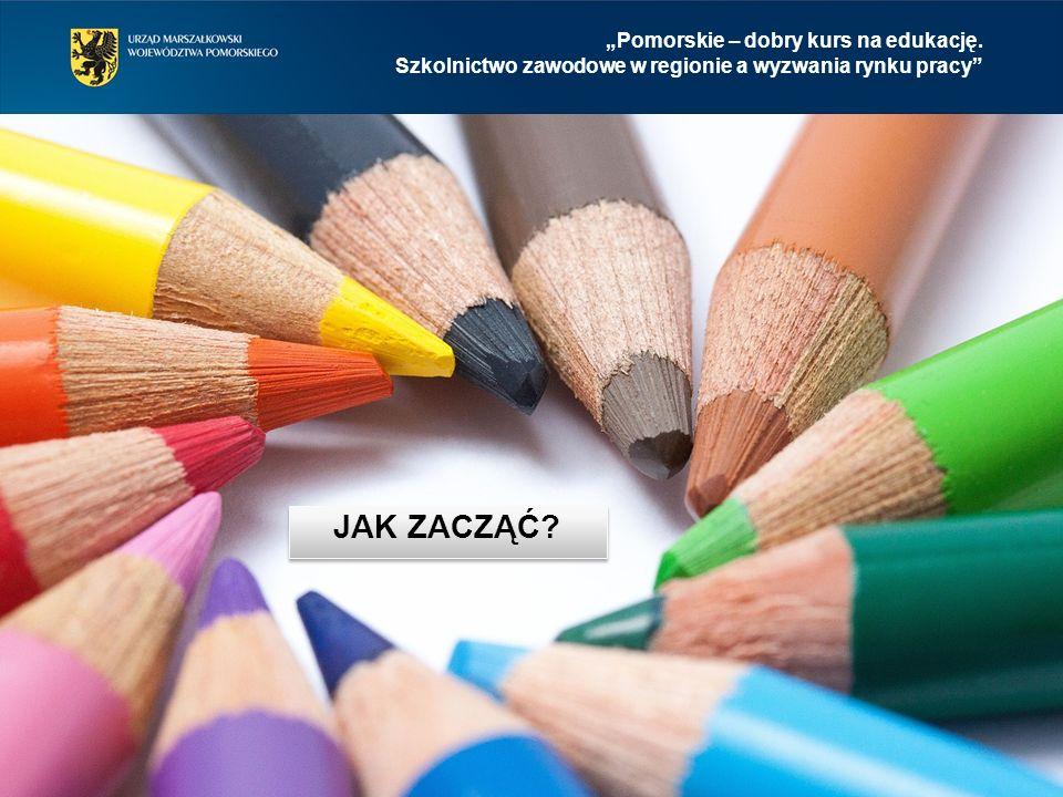 """""""Pomorskie – dobry kurs na edukację.Szkolnictwo zawodowe w regionie a wyzwania rynku pracy 1."""