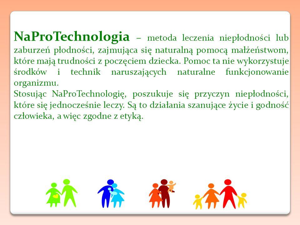 NaProTechnologia – metoda leczenia niepłodności lub zaburzeń płodności, zajmująca się naturalną pomocą małżeństwom, które mają trudności z poczęciem dziecka.