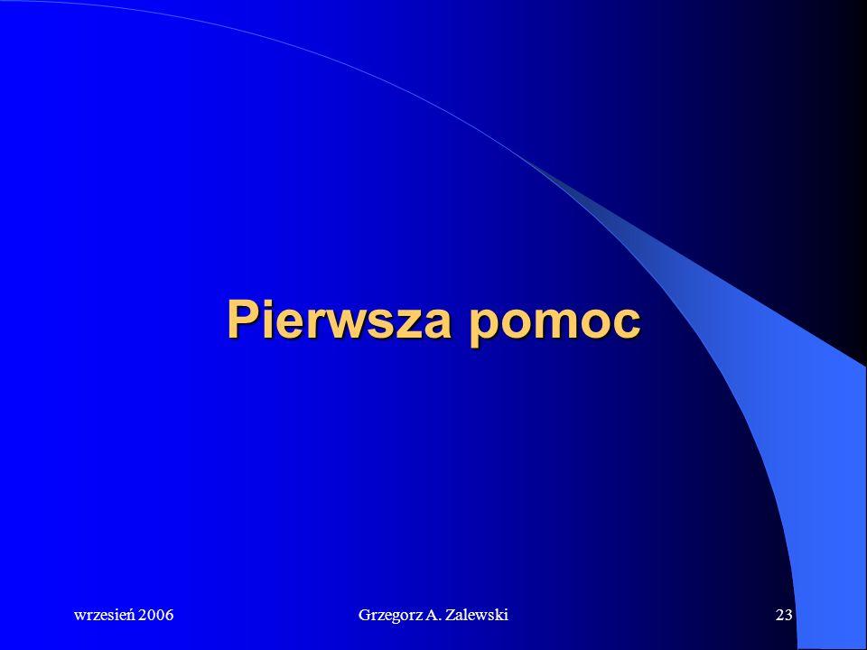 wrzesień 2006Grzegorz A. Zalewski22 Morska Służba Poszukiwania i Ratownictwa SAR SAR