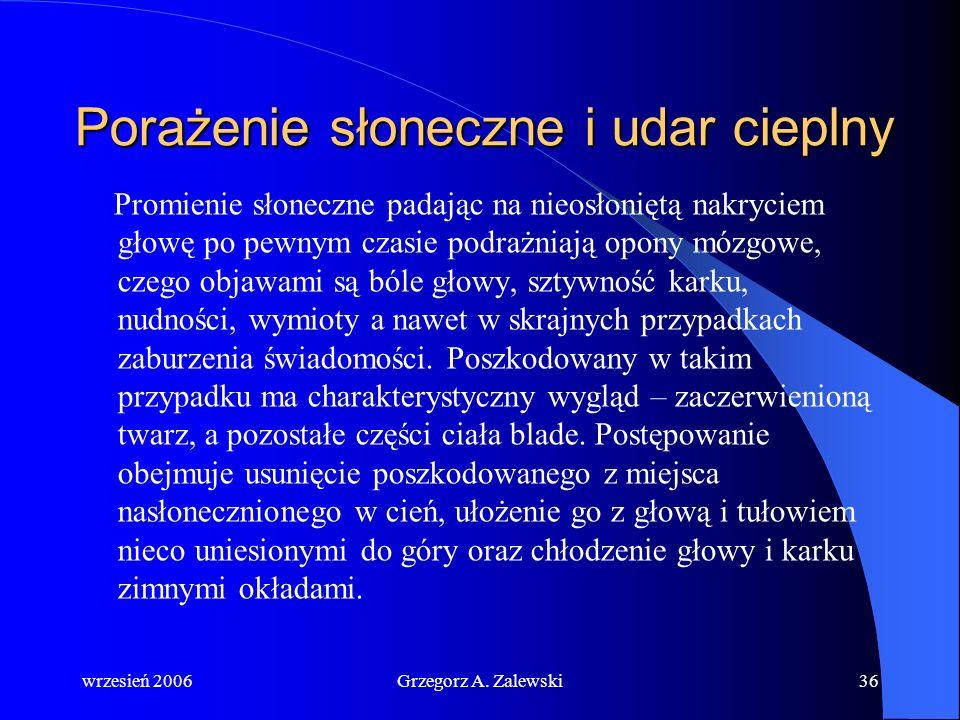 wrzesień 2006Grzegorz A. Zalewski35