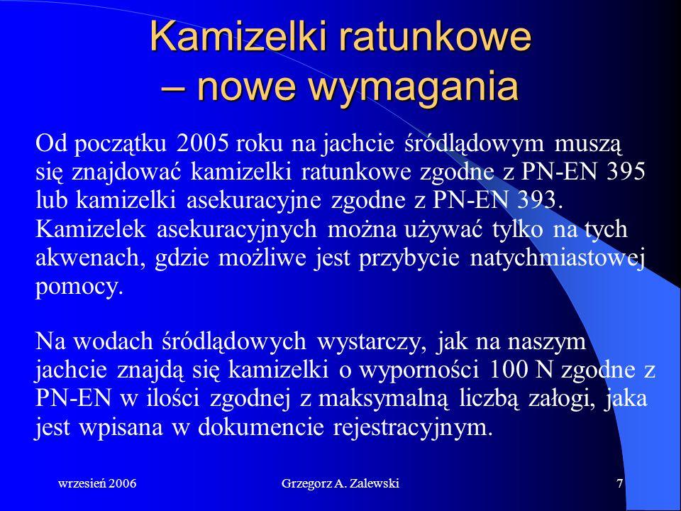 wrzesień 2006Grzegorz A. Zalewski6