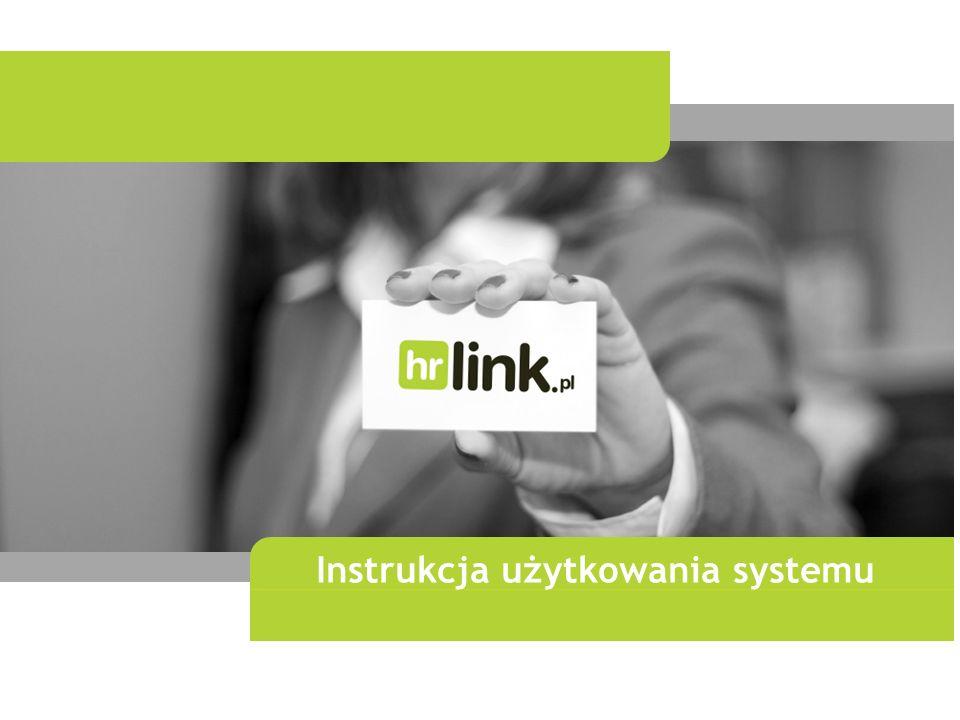 Instrukcja użytkowania systemu