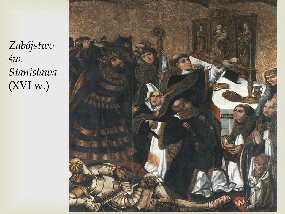 Józef Peszka, Śmierć Krzywoustego (XIX wiek)