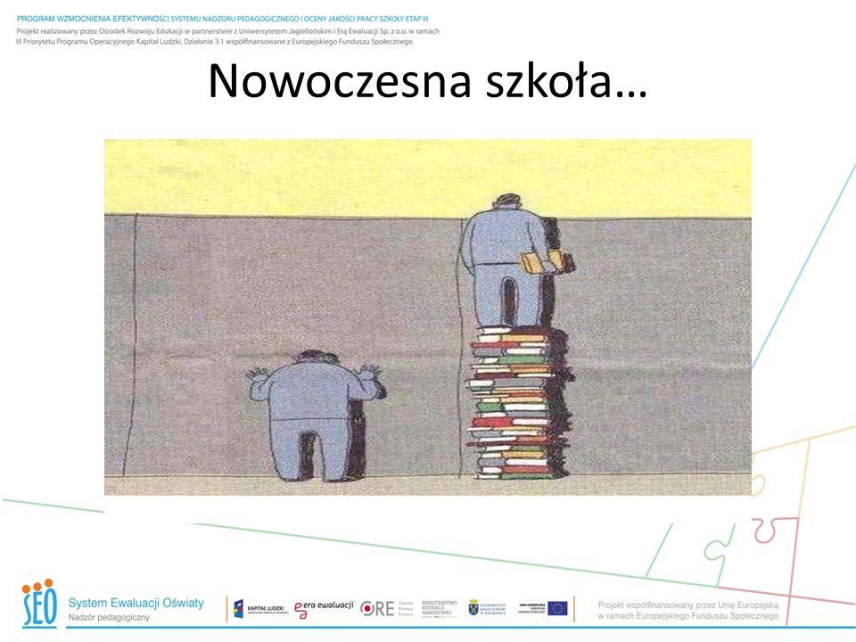 Nowoczesna szkoła…
