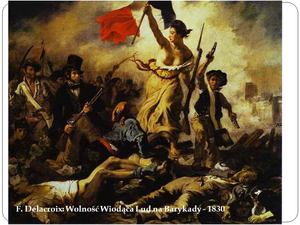 2015-10-10 F. Delacroix: Wolność Wiodąca Lud na Barykady - 1830