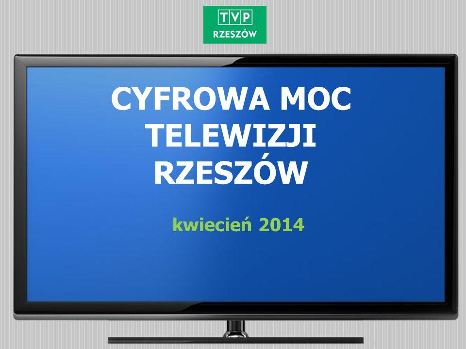 CYFROWA MOC TELEWIZJI RZESZÓW kwiecień 2014