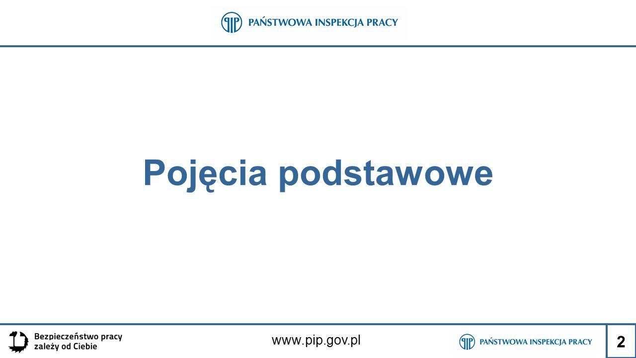 www.pip.gov.pl Pojęcia podstawowe 2