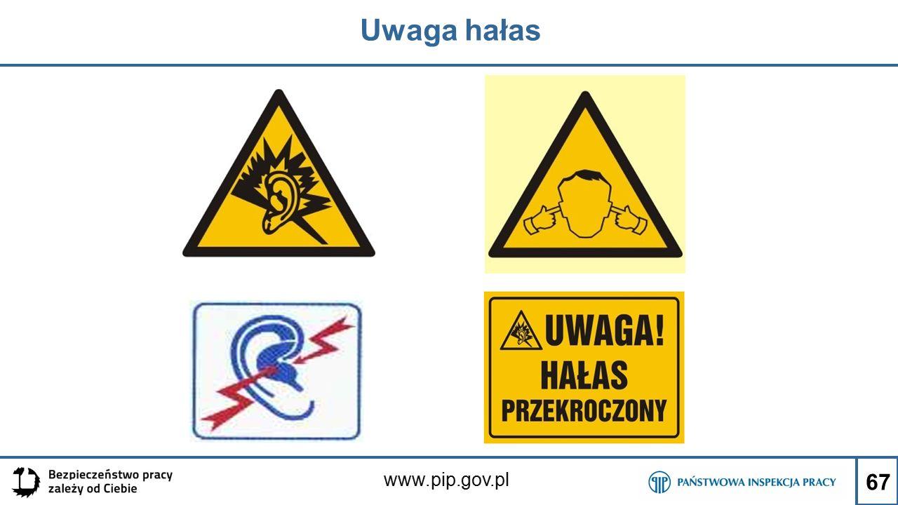 www.pip.gov.pl Uwaga hałas 67