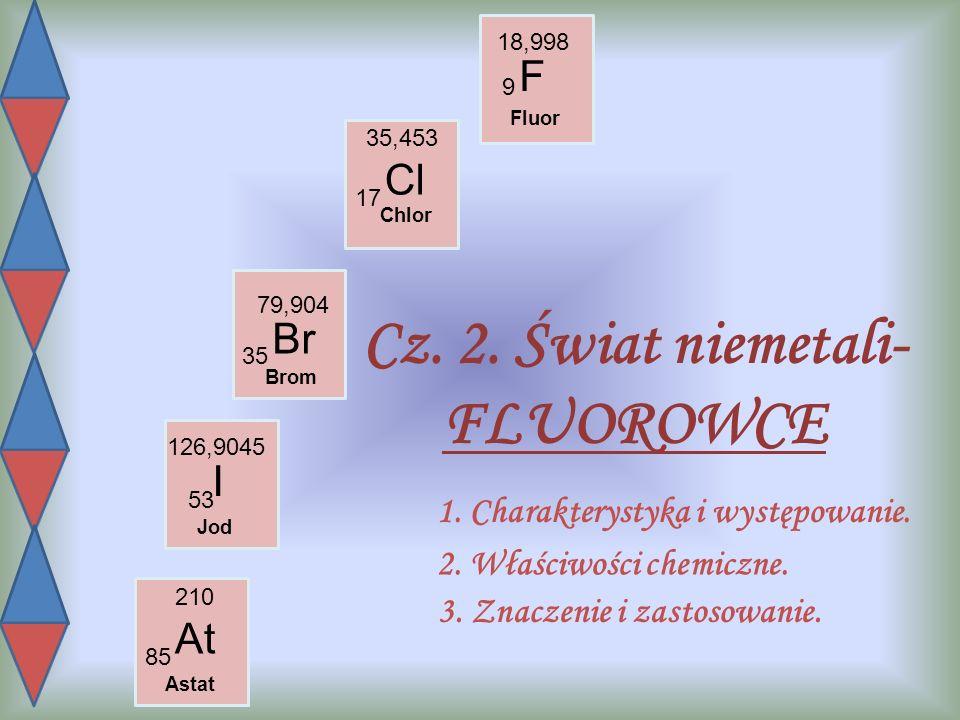 1.CHARAKTERYSTYKA I WYSTĘPOWANIE Do fluorowców (17.