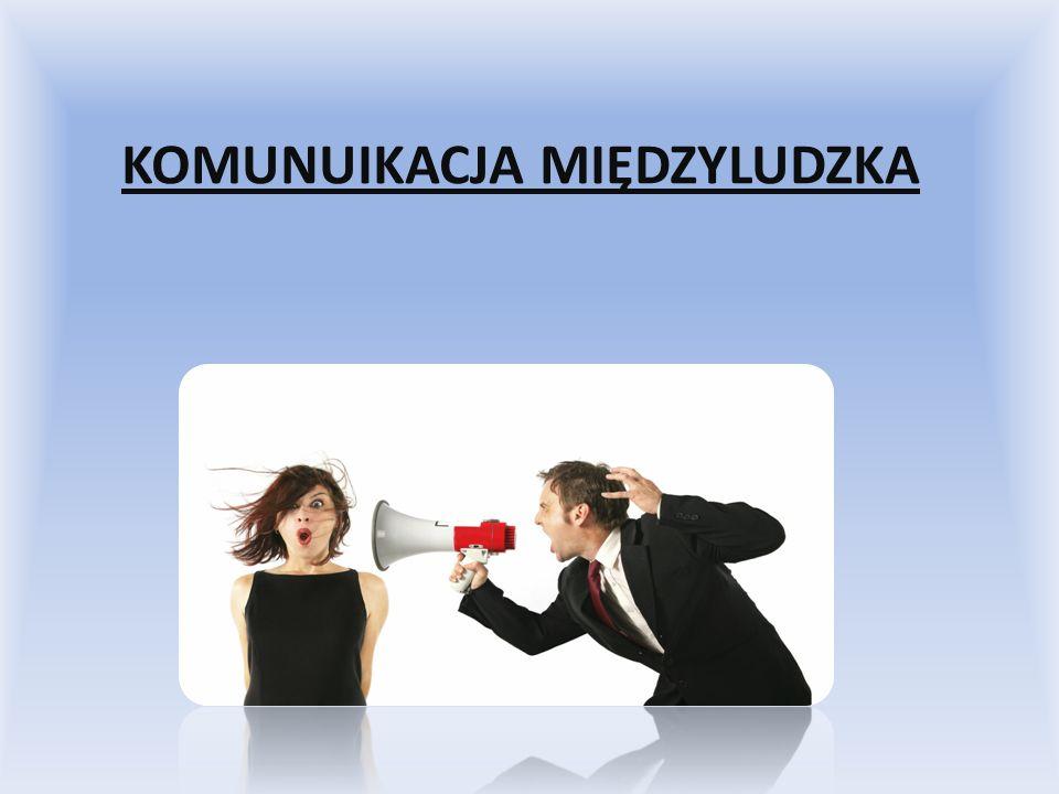 Definicja Komunikacja interpersonalna – wymiana informacji między jej uczestnikami za pomocą nośników danych (np.