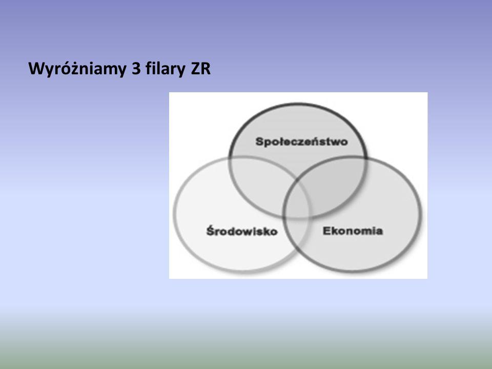 Wyróżniamy 3 filary ZR