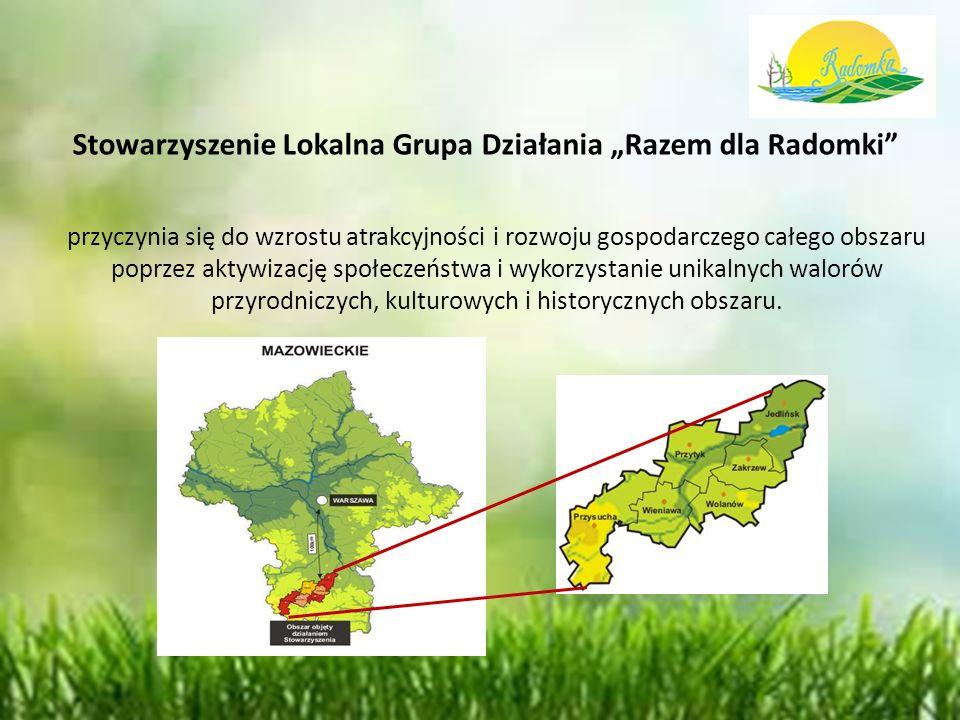 """Działania indywidulane prowadzone przez LGD Publikacje LGD """"Razem dla Radomki dotyczące lokalnych kulinariów, produktów lokalnych, tradycyjnych, regionalnych"""