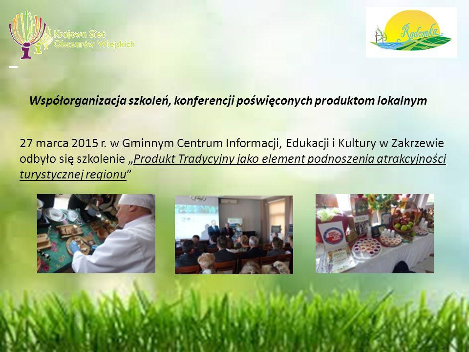 Zakrzewska Kiełbasa Jałowcowa i Wiejska Kiełbasa Zdziechowska na Liście Produktów Tradycyjnych Ministerstwa Rolnictwa i Rozwoju Wsi 5 marca 2015 r.