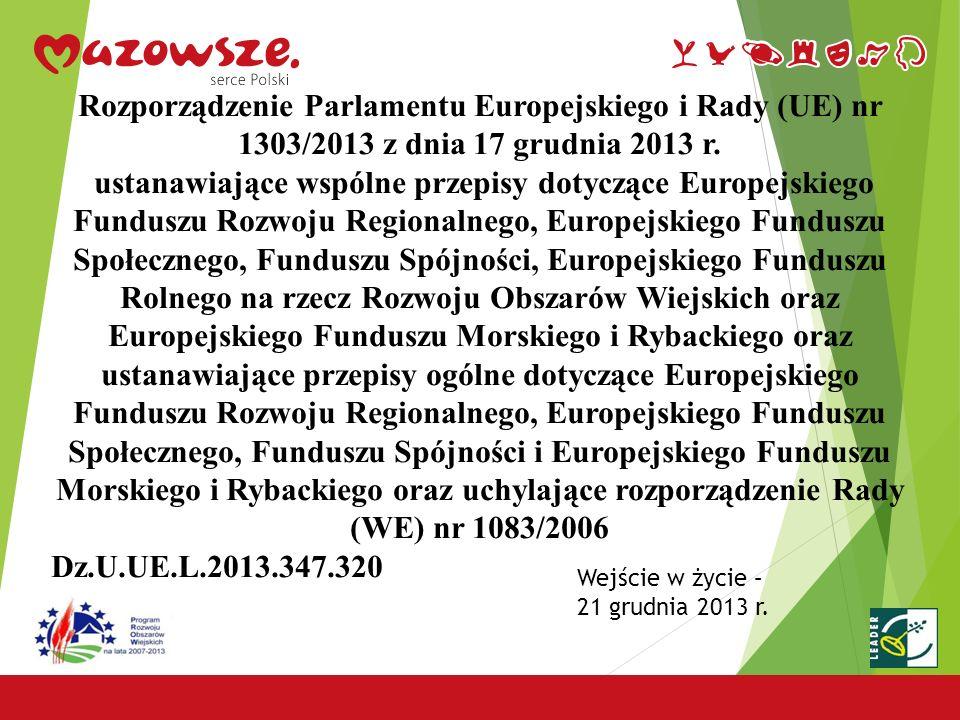 24 Urząd Marszałkowski Województwa Mazowieckiego Departament Rolnictwa i Rozwoju Obszarów Wiejskich 03-469 Warszawa, ul.