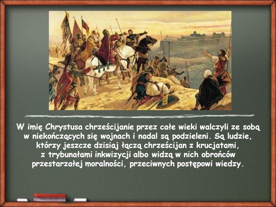 """Choć: """"Trzeba jednak przyznać, że historia odnotowuje także niemało faktów, które z chrześcijańskiego punktu widzenia stanowią antyświadectwo. (Incarnationis Mysterium, 11)."""