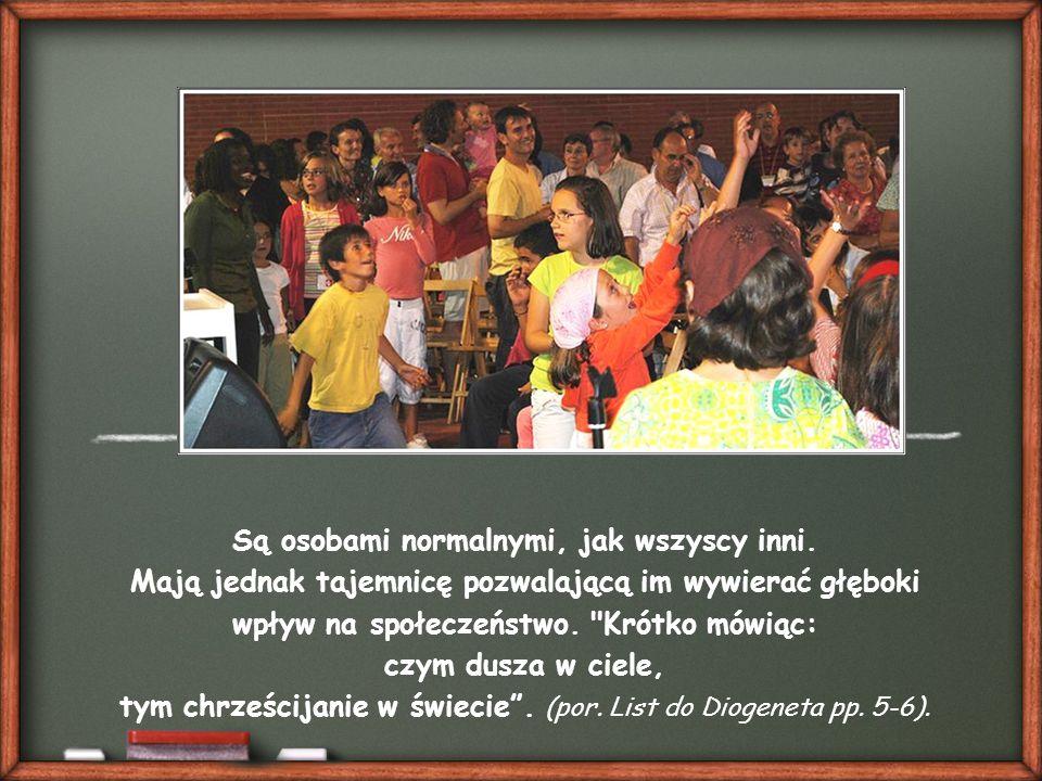 """""""Chrześcijanie bowiem ni ojczyzną, ni mową, ni rodzajem życia nie różnią się od reszty ludzi."""