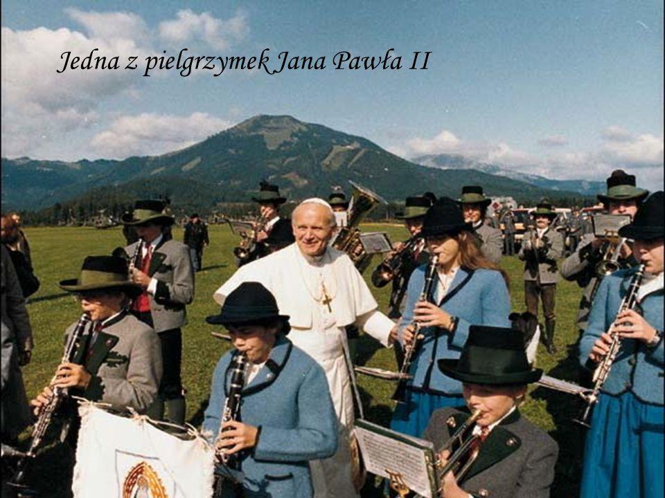 Jedna z pielgrzymek Jana Pawła II