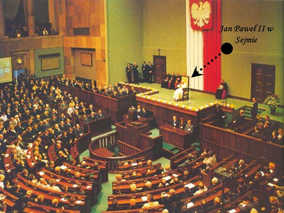 Jan Paweł II w Sejmie