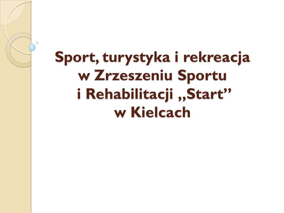 """Sport, turystyka i rekreacja w Zrzeszeniu Sportu i Rehabilitacji """"Start"""" w Kielcach"""