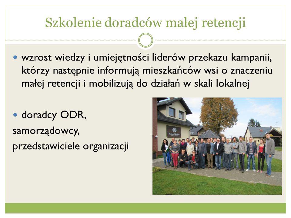 Szkolenia kaskadowe dla pracowników ODR dla mieszkańców wsi