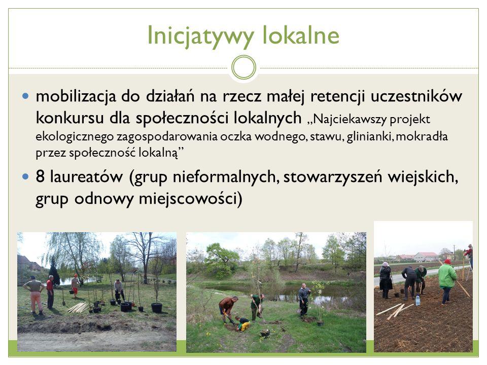 Oddolne inicjatywy dla zachowania bioróżnorodności i ochrony siedlisk owadów zapylających Cel projektu poprawa stanu środowiska naturalnego w skali lokalnej, wzmocnienie aktywności i mobilizację społeczności lokalnych do udziału w inicjatywach rozwiązujących lokalne problemy środowiskowe, integracja społeczności i samorządów wokół zrównoważonego wykorzystania walorów przyrodniczych w rozwoju lokalnym