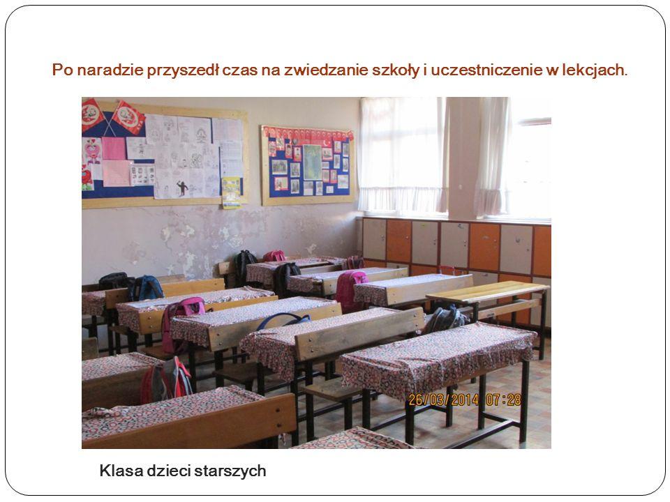 Najmłodsi uczniowie w szkole
