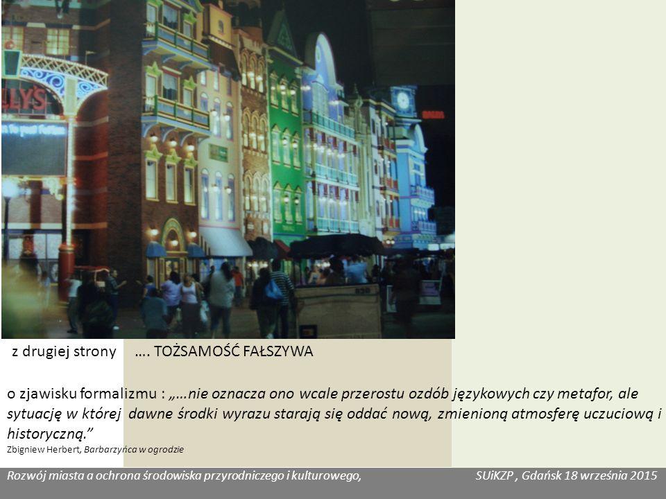 Rozwój miasta a ochrona środowiska przyrodniczego i kulturowego, SUiKZP, Gdańsk 18 września 2015 Katarzyna Józefowicz, Habitat z drugiej strony ….