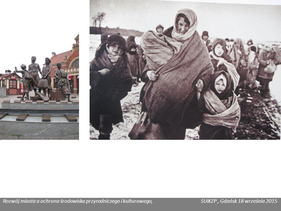 Rozwój miasta a ochrona środowiska przyrodniczego i kulturowego, SUiKZP, Gdańsk 18 września 2015 Katarzyna Józefowicz, Co łączy gdańszczanina ze WSPÓŁCZESNOŚCI gdańszczaninem z MIĘDZYPRZESZŁOŚCI .