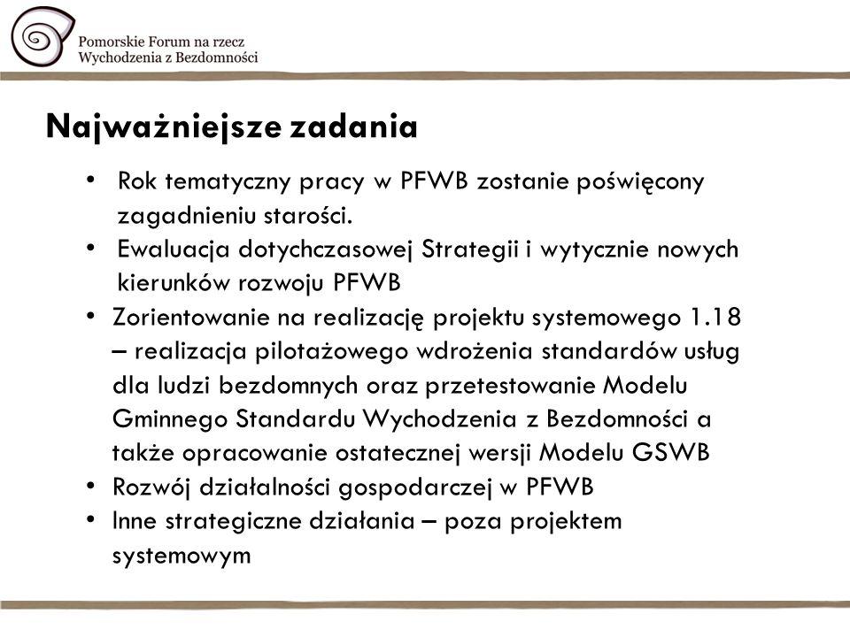 Biuro Kadra - Biuro PFWB 2013 – do czerwca 2013 – 12 osób (9 pełnych etatów, 3 na ½ etat), od czerwca do listopada 2013 - 9 etatów i 5 ekspertów na ½ etat/ucp