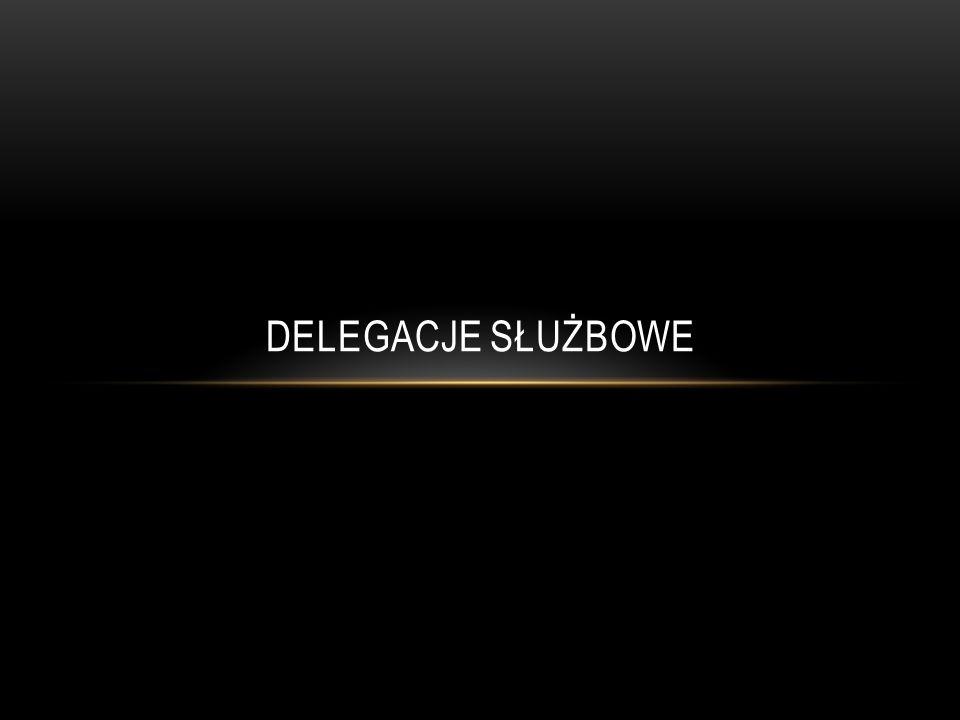 Delegacja to wyjazd służbowy pracownika poza siedzibę macierzystą firmy, gdzie jest zatrudniony, zlecony przez pracodawcę.